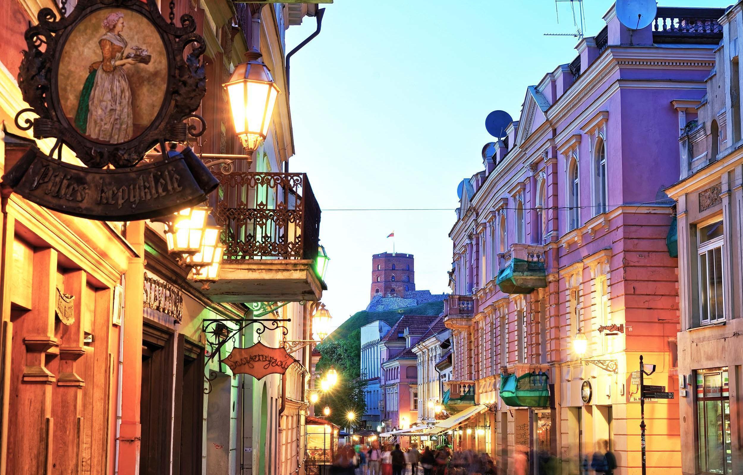 Vilnius, Riga e Tallinn