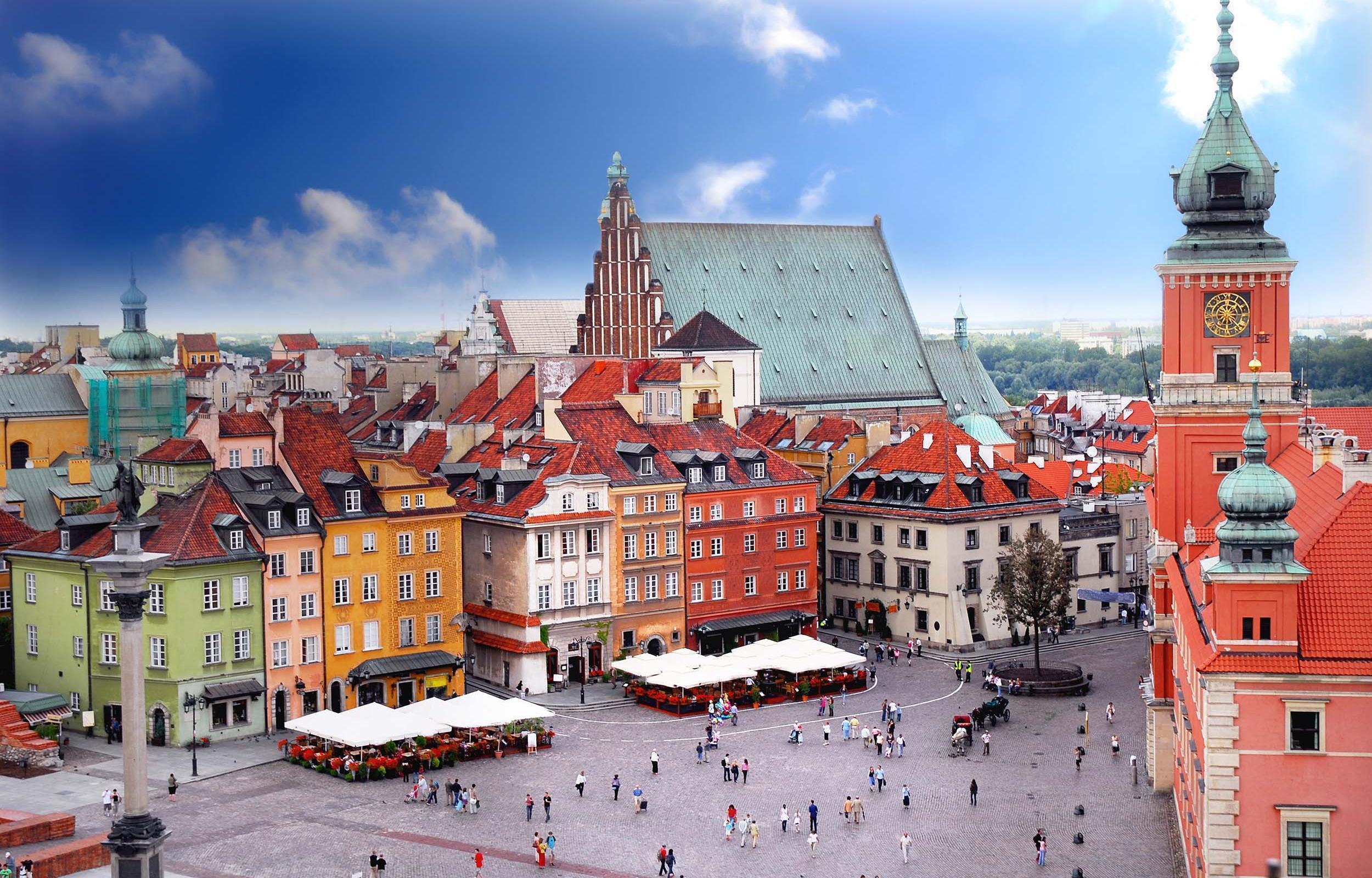 Cracovia e Varsavia