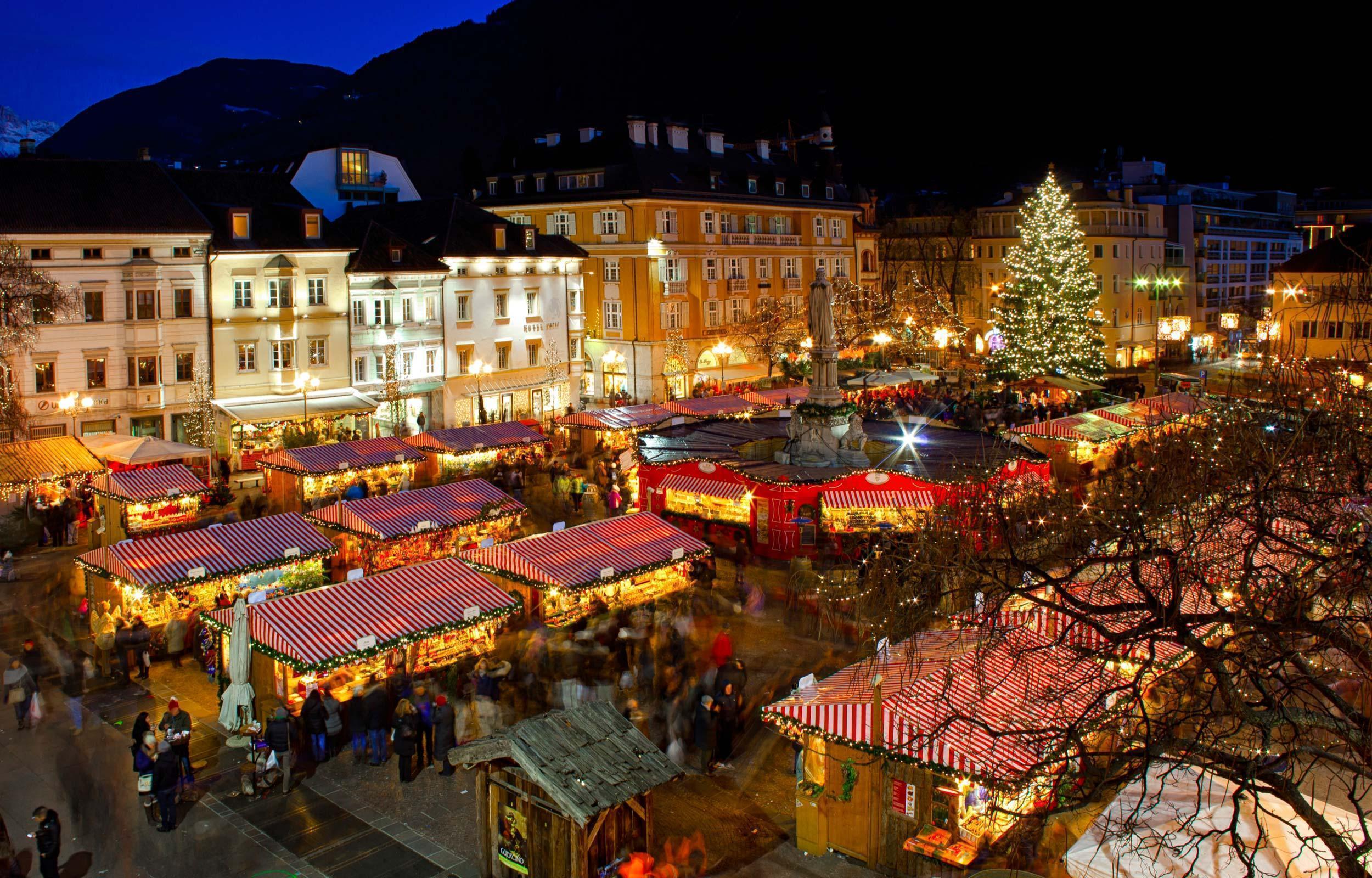 Atmosfera Natalizia a Merano, Bolzano, Vipiteno e Bressanone