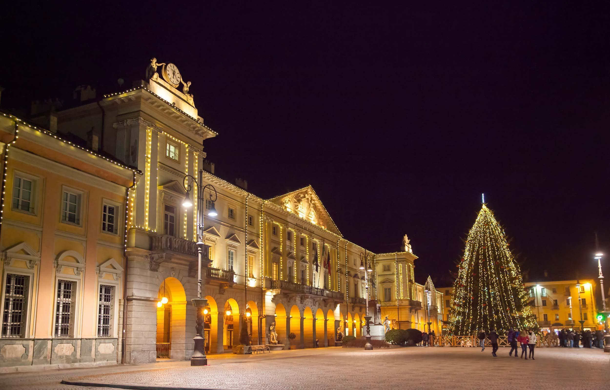 Aosta: il Marchè Vert de Noël