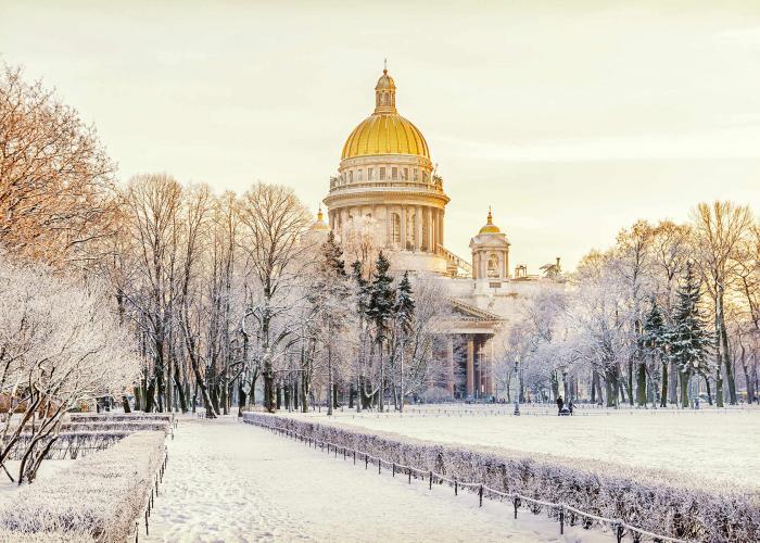 Magico Inverno a San Pietroburgo
