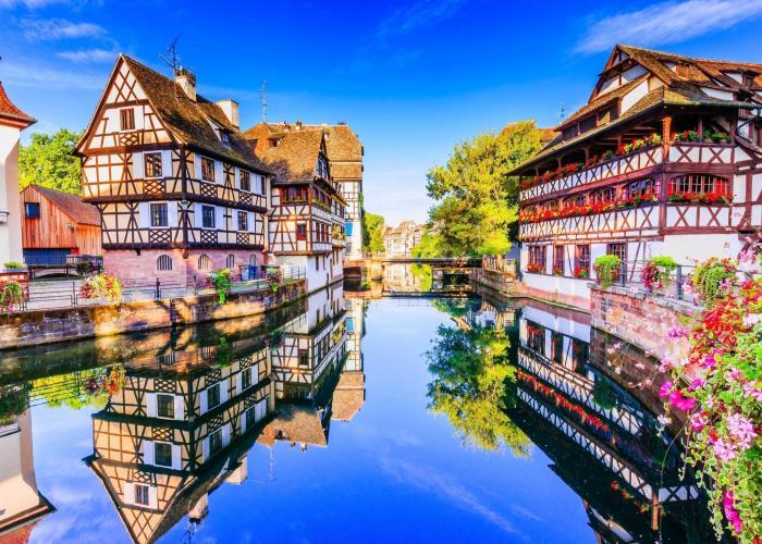 Alsazia: Strasburgo e Colmar