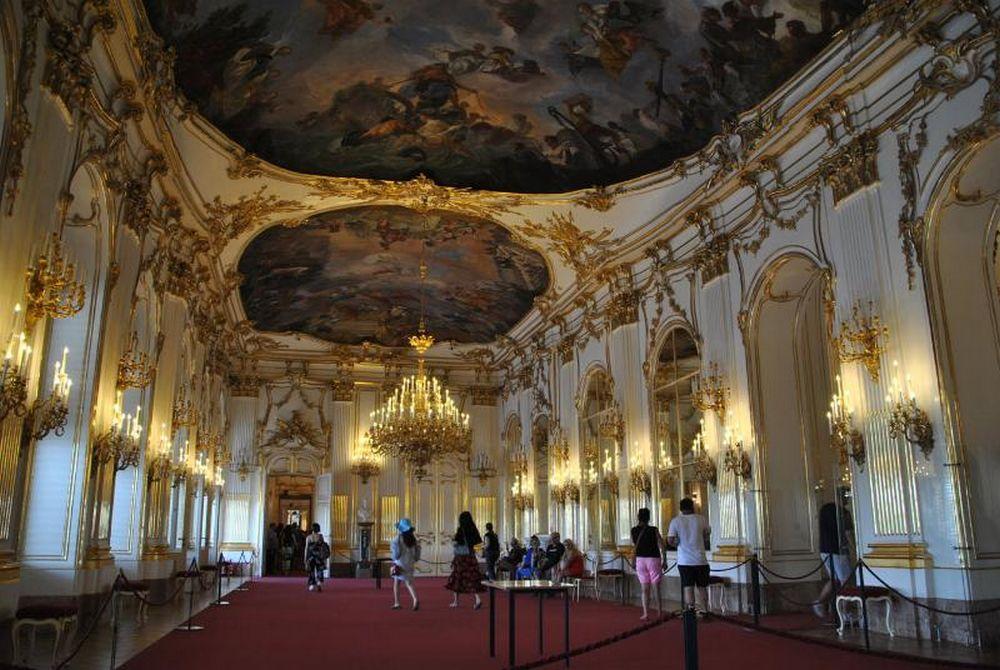 Castello di Schonbrunn: interno