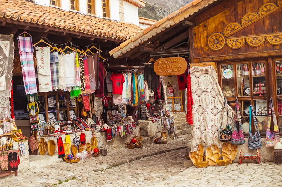 Bazar di Kruja