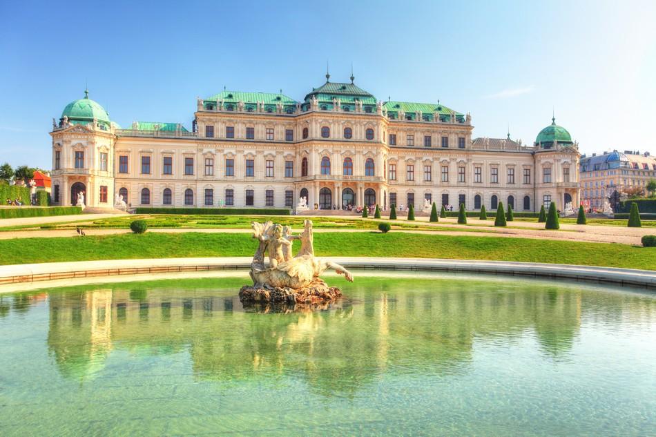 Il Palazzo di Belvedere - Vienna