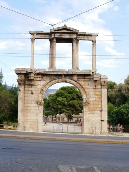 Atene: Arco di Adriano