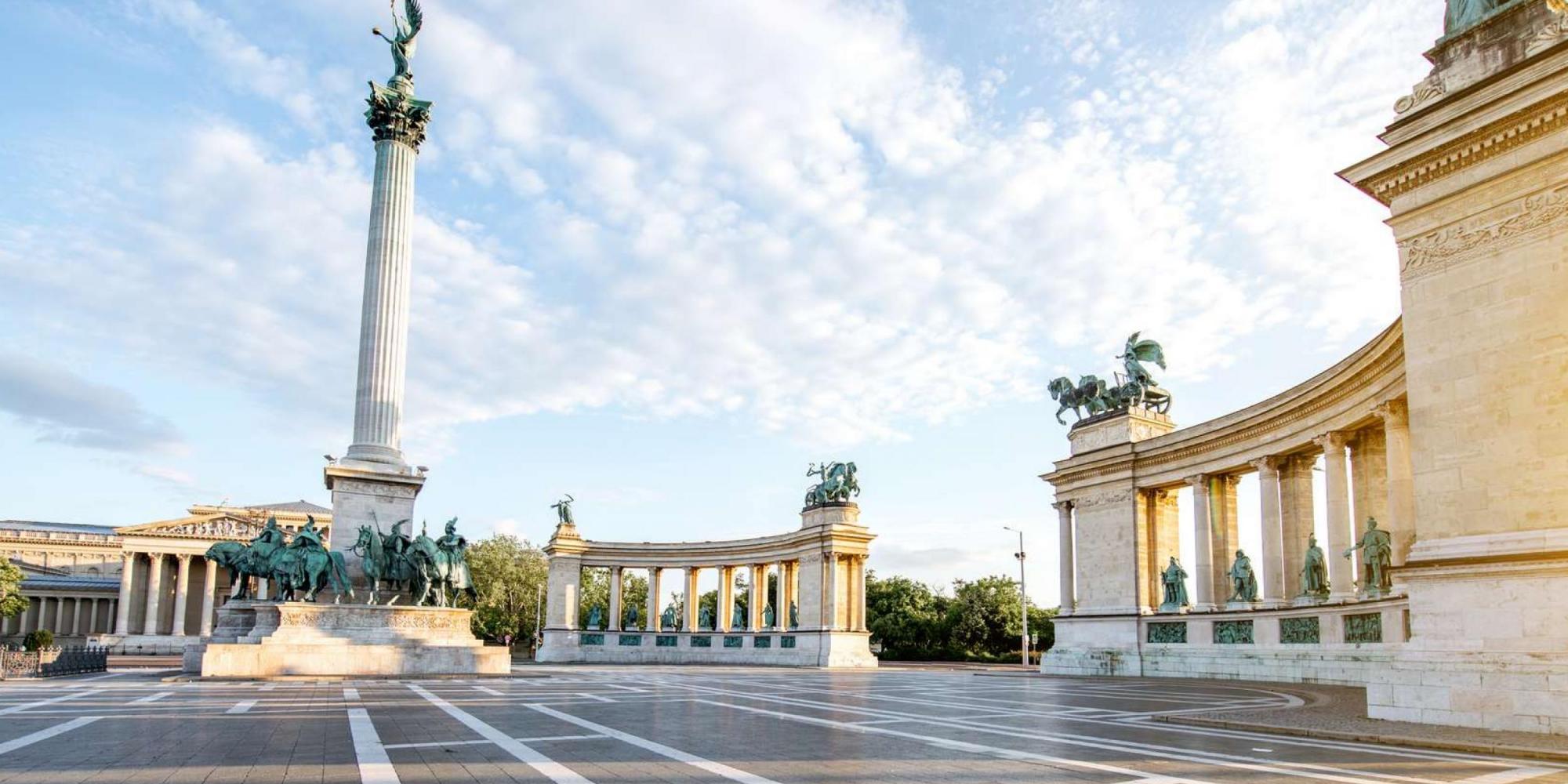 Budapest, Piazza degli Eroi