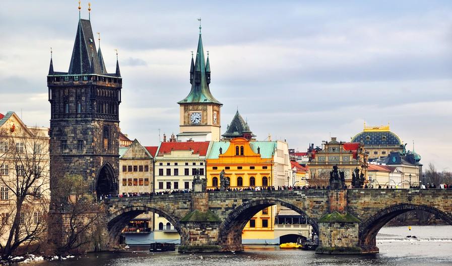 Praga: Ponte Carlo