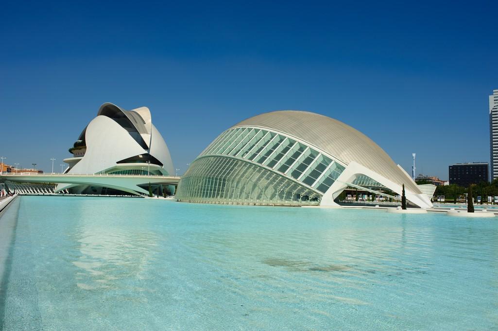 la Città delle Scienze e dell Arte, Valencia