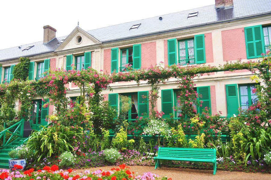 Giverny, Casa di Monet