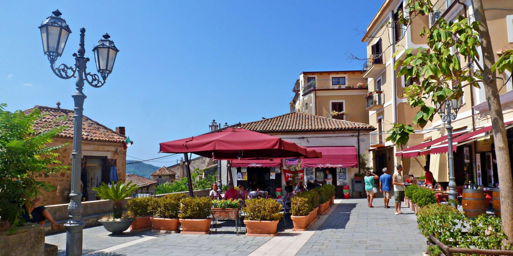 Castellabate - luoghi del film Benvenuti al Sud
