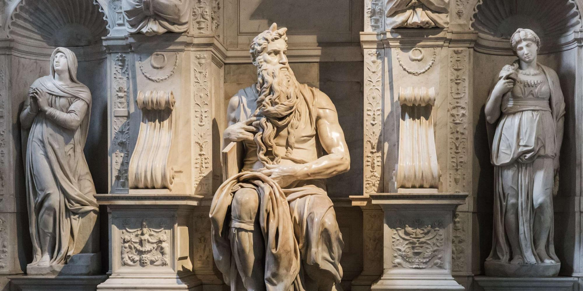 Mose Michelangelo - Roma