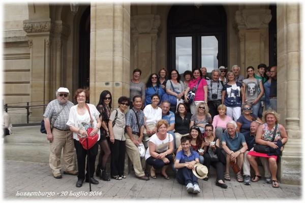 Foto del gruppo pubblicata sul nostro blog nel post del 23 luglio