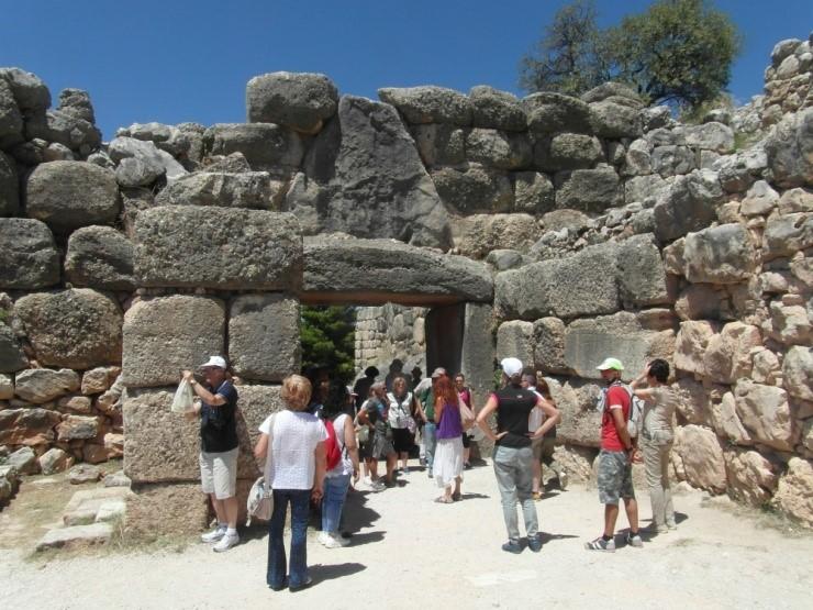 Micene: la Porta dei Leoni