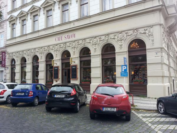 L'esterno del Café Savoy