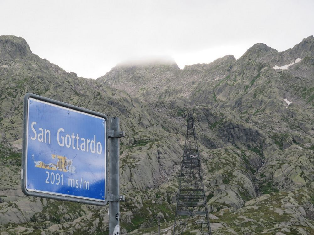 Segnale San Gottardo