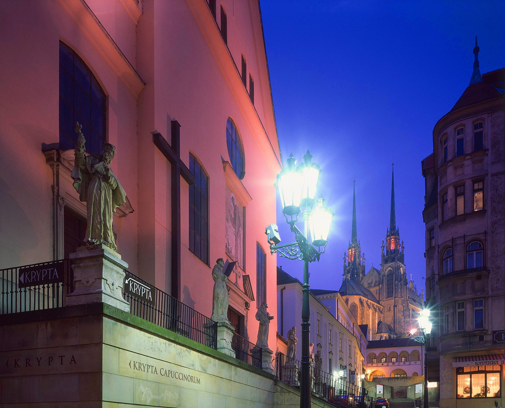 Brno: scorcio sulla Basilica