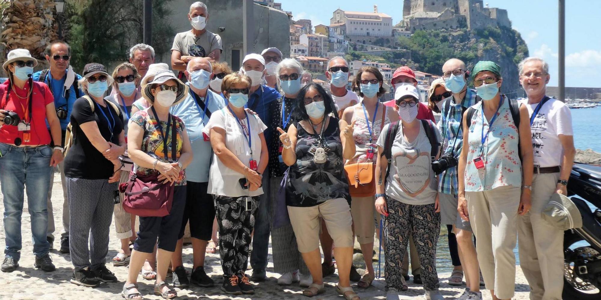 Scilla - foto di gruppo - Tour Calabria