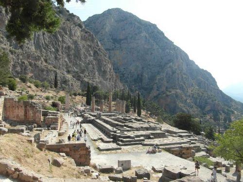 Delfi – Tempio di Apollo