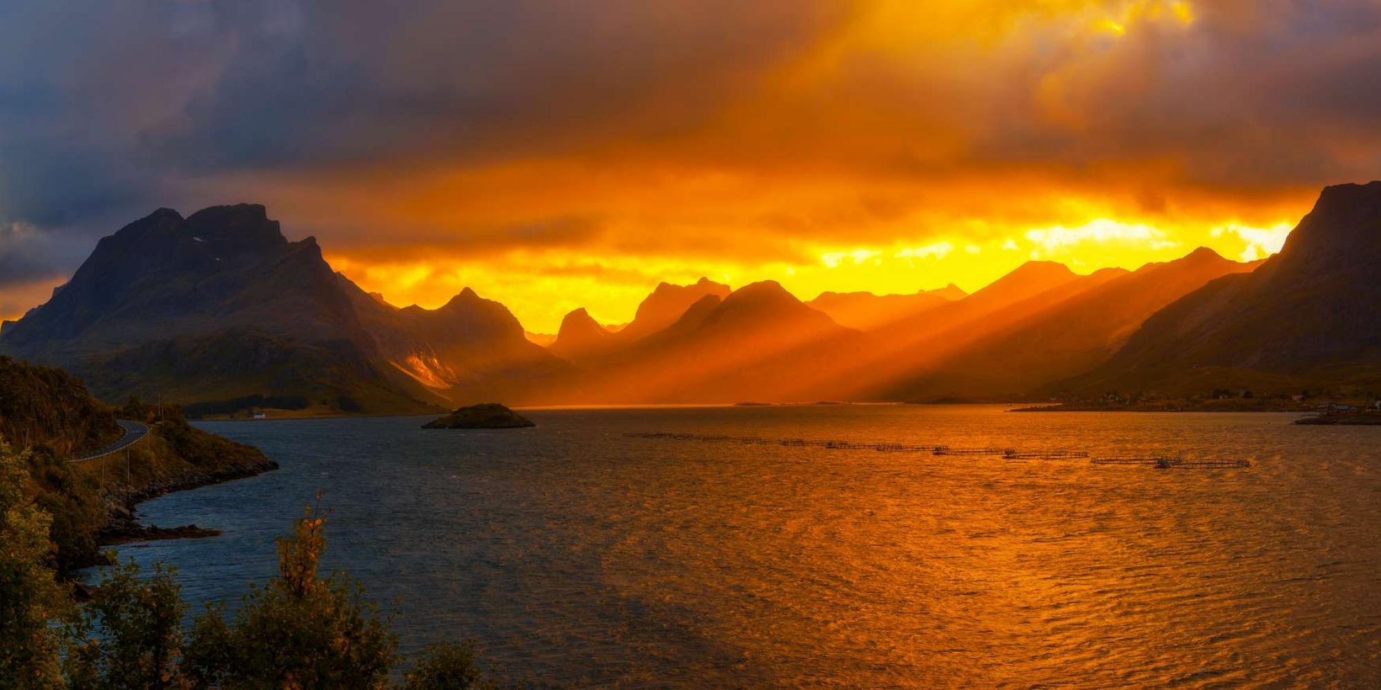 Norvegia Tramonto