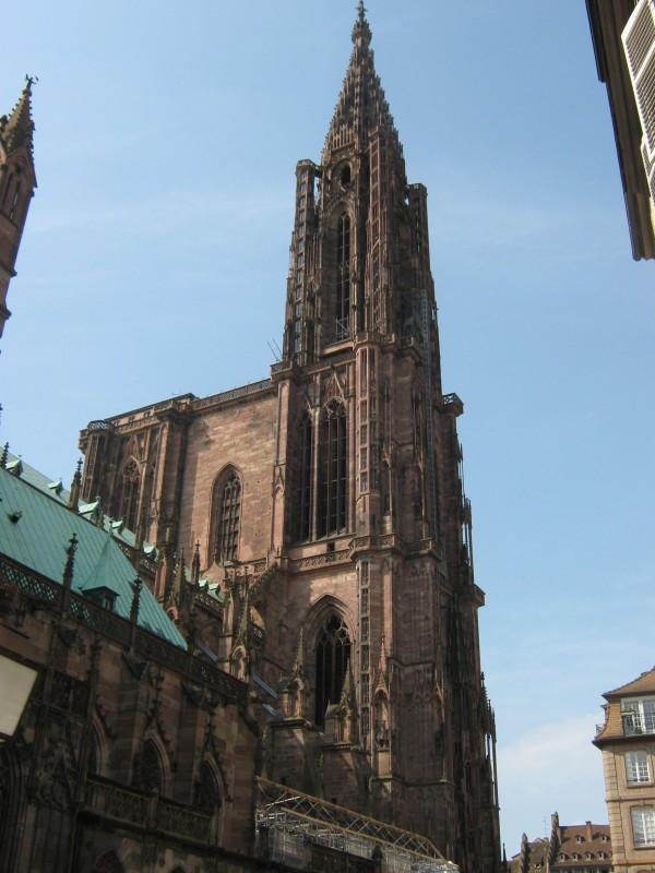 Strasburgo: cattedrale di giorno