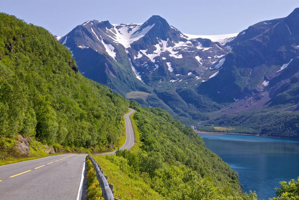 Norvegia fiordi